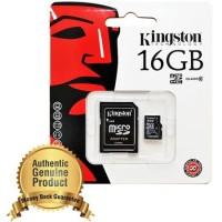Kingston MicroSDHC High Capacity Card UHS-I Class S 10 (10MB / S) 16GB