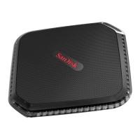 SanDisk Extreme 500 Portable SSD USB 3.0 240GB - SDSSDEXT-240G - Black