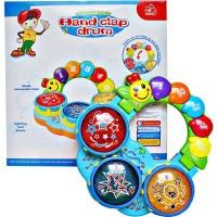 Mainan Bayi Anak Hand Clap Drum