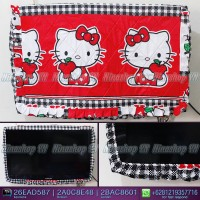 Cover TV,bando TV,Tutup TV LED/LCD motif Hello Kitty Apel