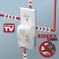 Riddex Quad Pest Repelling Aid - Pengusir Tikus Kecoa dan Serangga