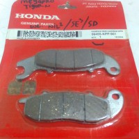 harga Disc Pad / Kampas Rem Depan Megapro, Tiger Revo, Verza Original Honda Tokopedia.com