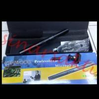 harga Mic Condensor Kenwood Kw 320 (shotgun / Telescopic Microphone ) Tokopedia.com