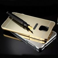 Metal Bumper Mirror Slide Back Cover Casing Case Samsung Galaxy Note 3