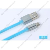 Remax Quick Micro USB Cable For Smartphone - Blue