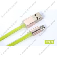 Remax Quick Micro USB Cable For Smartphone - Green