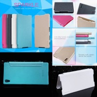 harga Nillkin Sparkle Leather Case Sony Xperia Z5 Premium Flip Cover Tokopedia.com