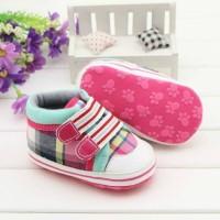 harga Prewalker / Pre Walker - Pink Green Plaid Tokopedia.com