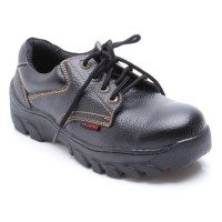 Octopus Sepatu Safety Industrial/ Safety Shoes Ox 301 - Hitam