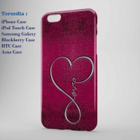infinity love apple hard case,case dan semua hp