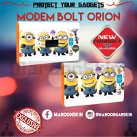 Jual GARSKIN/skin MODEM BOLT ORION Motif Minions Murah