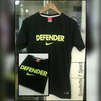 T-Shirt / Kaos NIKE Defender Black list Green light
