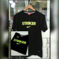 T-Shirt / Kaos NIKE STRIKER Black List Greenlight
