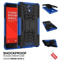Jual Xiaomi Redmi Note 2 Rugged Shockproof Armor Hybrid Hard & Soft Case Murah