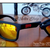 Spy folding fire (kacamata lipat merah pria motocross motor sport helm