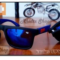 harga Spy folding blue (kacamata lipat biru pria motocross motor sport helm) Tokopedia.com