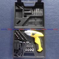 Mesin Obeng Baterai / Obeng Elektrik / Cordless Screwdriver FISCH