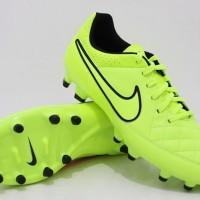 Sepatu Bola Nike Tiempo Genio Leather FG Green Original