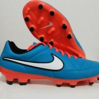 Sepatu Bola Nike Tiempo Genio Leather FG Neo Turq Original