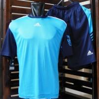 Kaos Setelan Adidas F50 BiruMuda Navy (Jersey,Baju,Nike,Bola,Futsal)