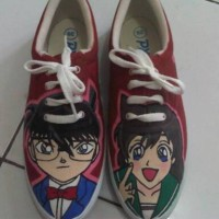 Sepatu Lukis Conan and Ran