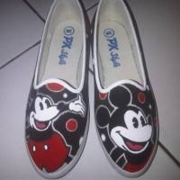 harga Sepatu Lukis Mickey Clasic Tokopedia.com