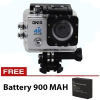 Jual Onix Action Camera 4K Ultra HD Q3H - 16MP - WIFI - Putih Murah