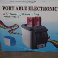 harga KULKAS mini Portable 6L / 6 Liter Lemari Es Pendingin untuk mobil Tokopedia.com