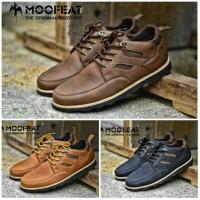 Sepatu Boot Pria Moofeat Low Boot