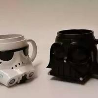 Mugs / gelas cangkir plastik Darth Vader Stromtropper Star Wars