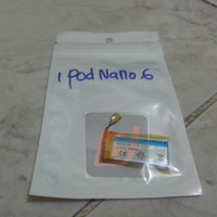 Baterai / battery / batere original ipod nano 6