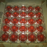 Kotak tempat cincin batu akik mika model cristal 1kodi