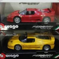 diecast miniatur mobil bburago F50