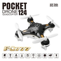 Mini FQ777-124 Pocket Drone 4CH 6Axis Gyro with ONE key Return