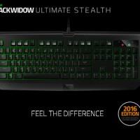 Razer BlackWidow Ultimate Stealth 2016 Gaming Keyboard
