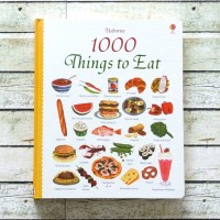 Harga usborne 1000 things to eat buku impor import anak english | Pembandingharga.com