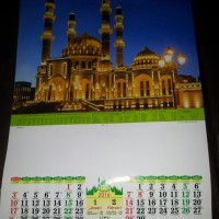 Jual kalender / kalendar / calender / calendar 2016 standard / 2 bulanan Murah