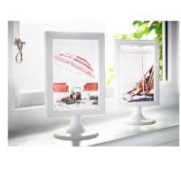 IKEA TOLSBY Bingkai 2 Gambar Putih