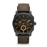 Jam Tangan Pria Fossil Original FS4656 Machine Brown Leather