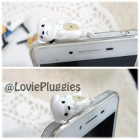 harga Pluggy Dustplug Earplug Doggie Putih Ep48 Tokopedia.com