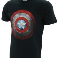 Jual Kaos Baju Superhero TopGear Captain America Shield Murah