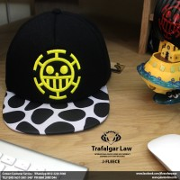 harga Topi Caps Anime Trafalgar Law One Piece Tokopedia.com