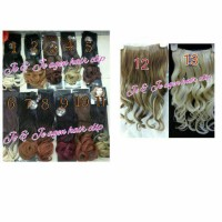 Jual hairclip ombre curly/hair clip/wig/ponytail/cepol Murah