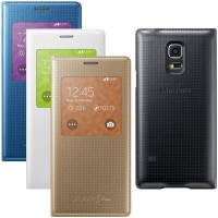 Flip Cover Samsung Galaxy Alpha G850 G850F auto lock IC Leather Case