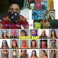 harga buf baff bandana masker slayer syal penutup muka wajah ciput jilbab Tokopedia.com