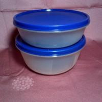modular bowl set (2) - Tupperware Jadul