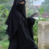 Cadar Butterfly | Niqab Niqob Purdah