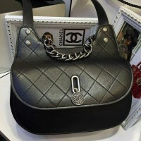 JUAL TAS CHANEL HOBO MINI BAG 25CM BLACK MIRROR QUALITY 1 1 ORIGINAL 8a37610301