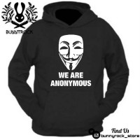 Jaket Hoodie WE ARE ANONYMOUS