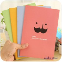 Notebook Colorful Nota Buku Buku Tulis (Mr.Babba) K5010